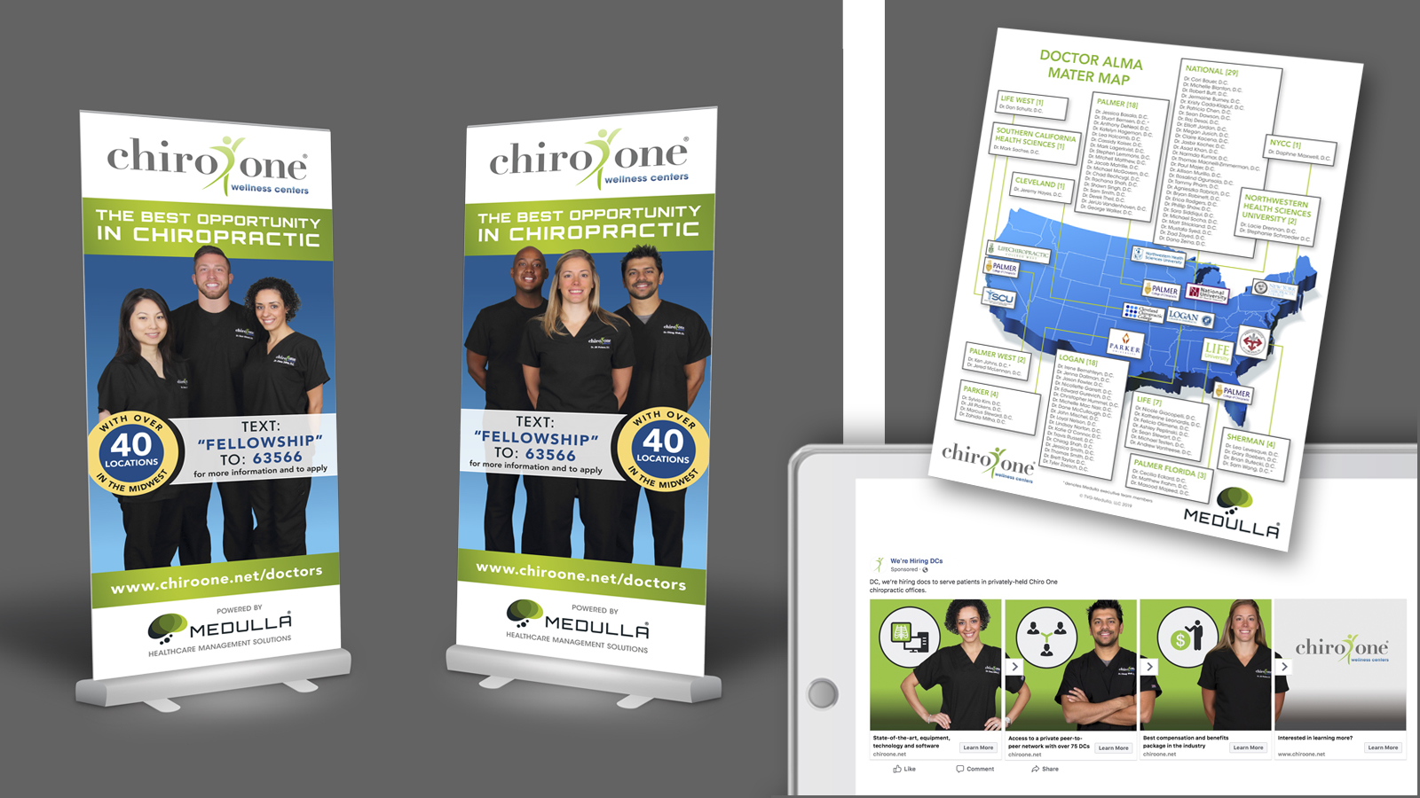 Chiro One Doctor Recruiting Campaign