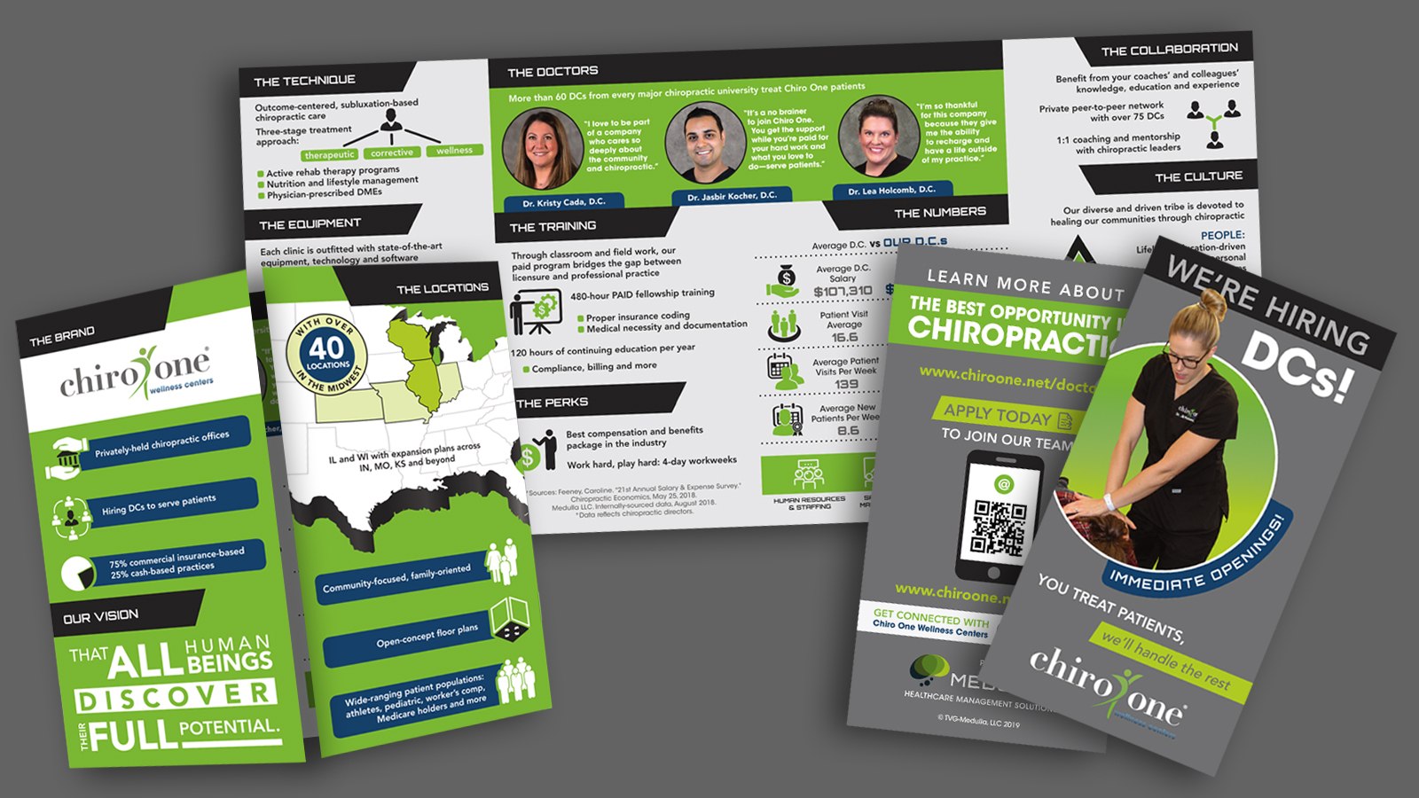 Chiro One Doctor Recruiting Brochure